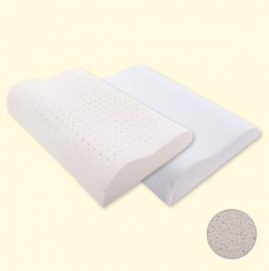 [팜프링] 프리미엄 유기농 라텍스 경추기능 베개 (4X6) 낮은형
